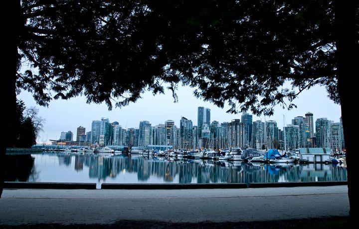 Vancouver Skyline Canada - Fine Art Photography
