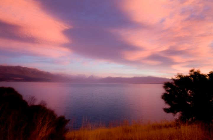 Mount Cook New Zealand Sunrise - Fine Art Photography