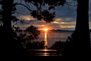 Nelson New Zealand sunrise