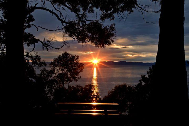 Nelson New Zealand sunrise - Fine Art Photography