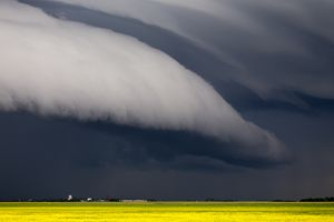 Prairie Storm Clouds - Fine Art Photography