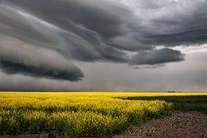 Prairie Storm Clouds - Fine Art Photography