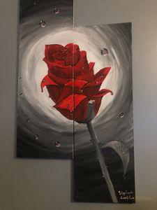 A bright Rose in the Dark