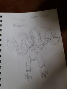 Blizzarmon from digimon