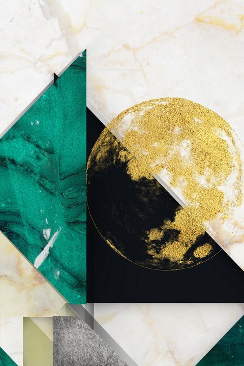 abstract geometric print n152 - tayorart