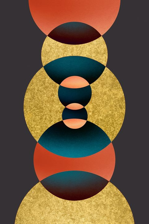 abstract mixedmedia - tayorart