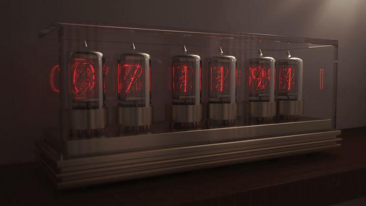 Nixie Tube Clock - blissnoise