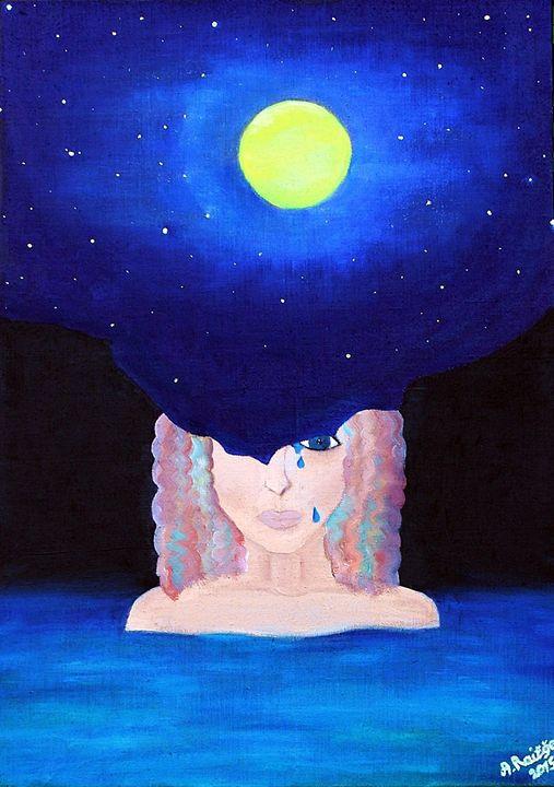 Moon mood - Alina Art