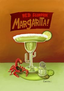 Red Scorpion Margarita