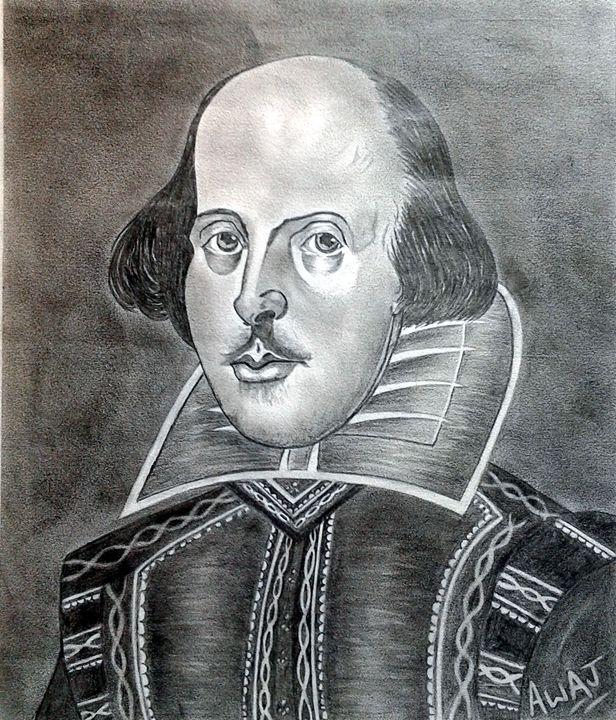 William Shakespeare - awaj art store