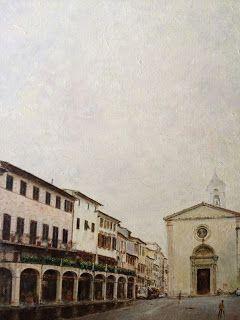 Arcades and Santa Maria - Landskape