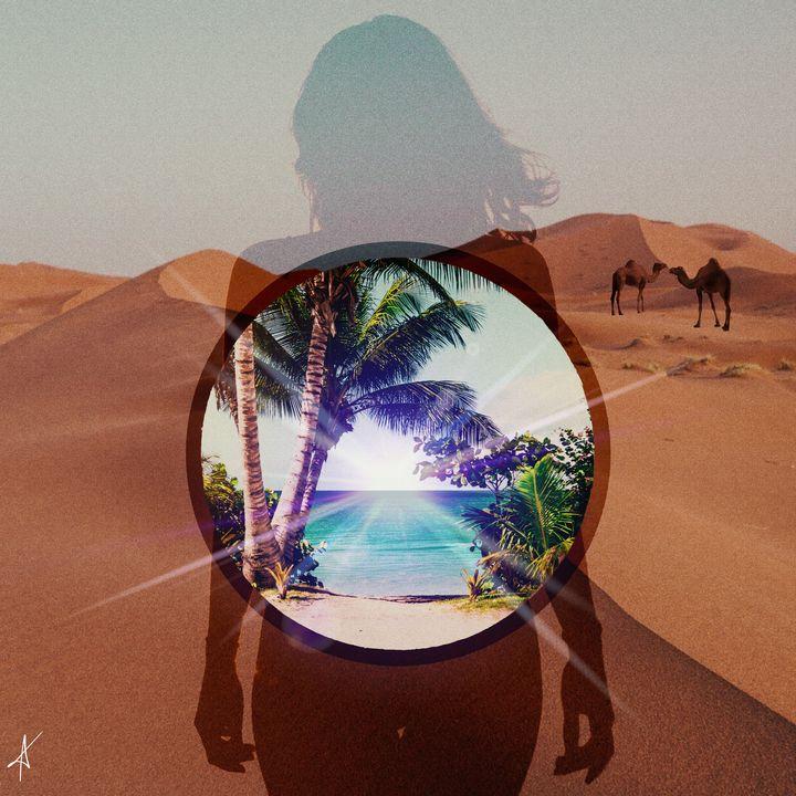 Paradise (With glare) - MY ART