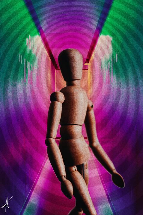 Wooden Figure - MY ART