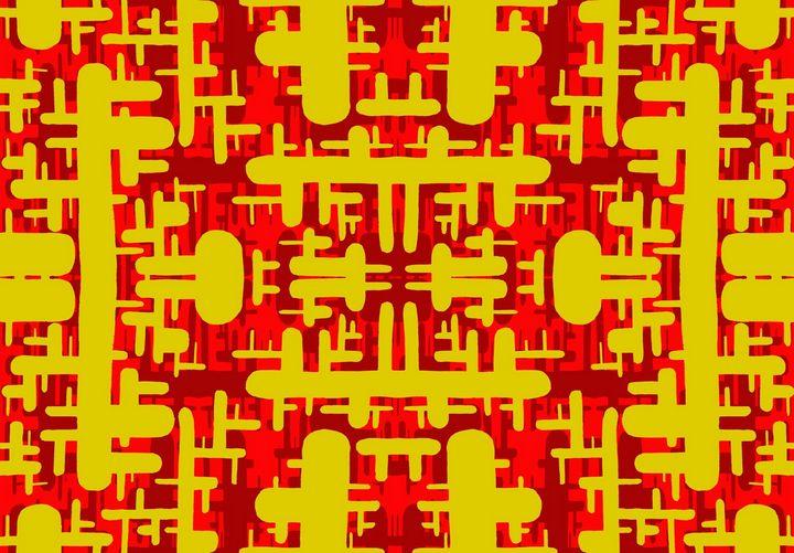 Abstract 102009 - Joel Ramsay Art