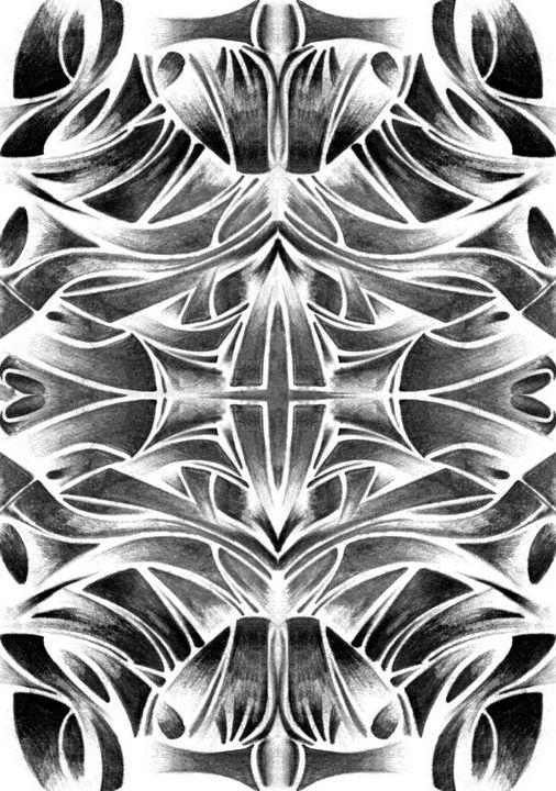 Spirit (Composition 3) - Joel Ramsay Art