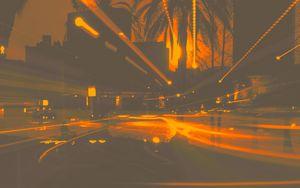 Drive Home in Miami