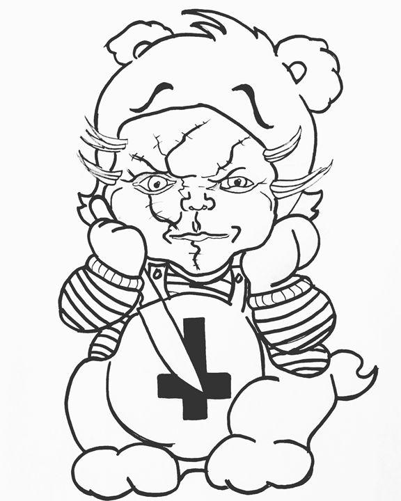 Chucky Bear - Zwolftel Wolf