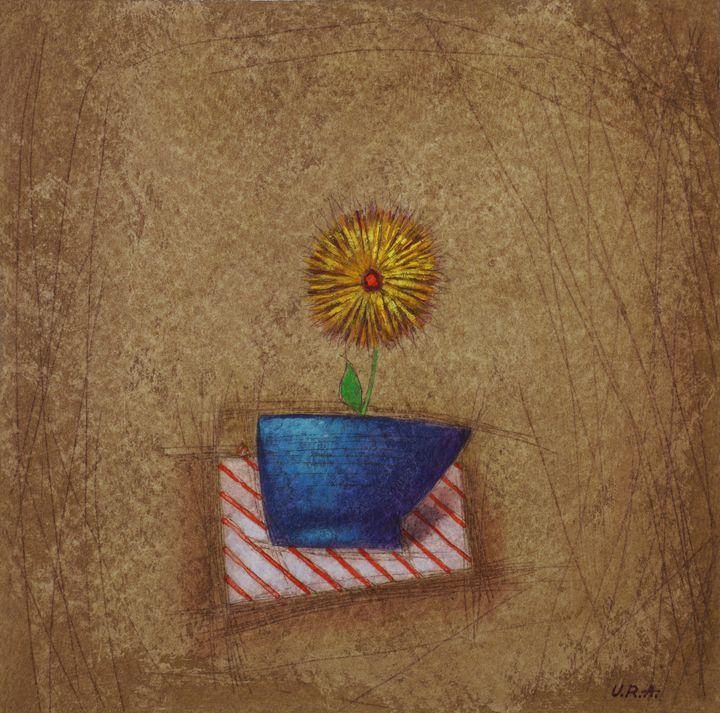 Blue & Yellow - George Darash