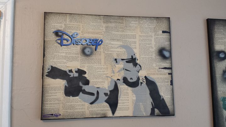 Stormtrooper - Disobey - Our Street Art