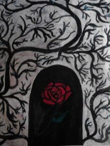 mysterious rose of inner beauty