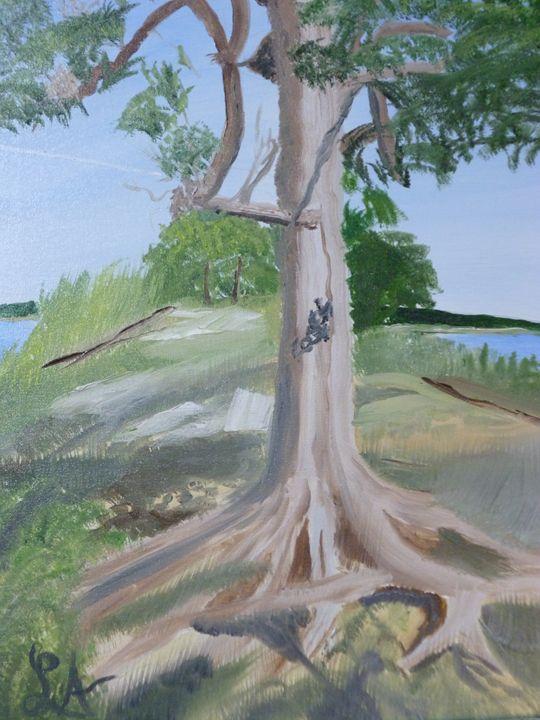 Oklahoma reunion tree - Roses Artwork
