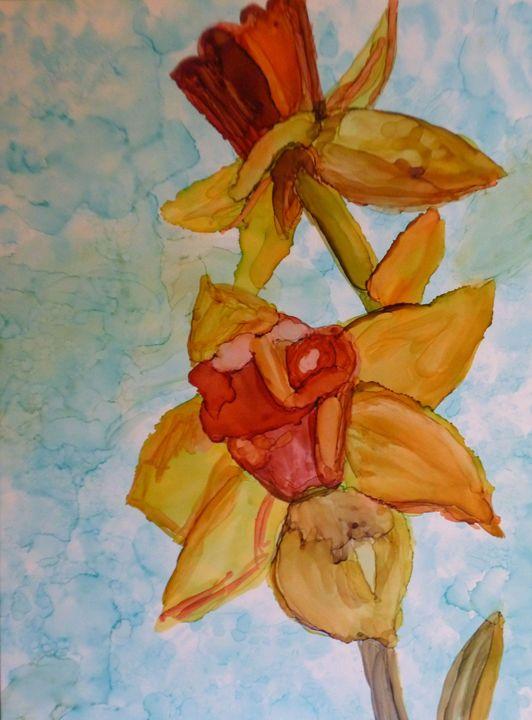 Daffodil - Roses Artwork