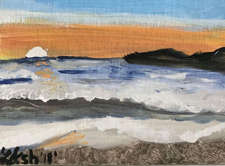 Rough seas - Roses Artwork