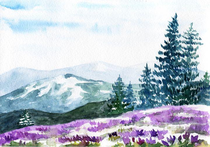 Mountain spring - Yana Solare Art