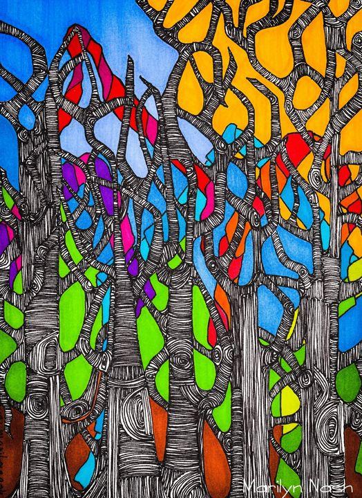 Tree Party - Marilyn Nash