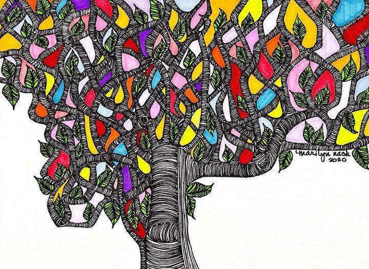 Read Between the Leaves - Marilyn Nash