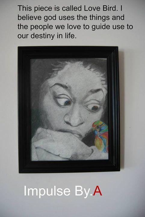 This piece is called Love Bird - ImpulseByA