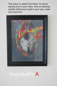 This piece is called One Heart