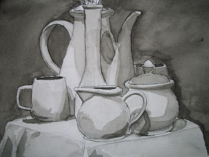 Tea Time - By: Ernest Spurlock
