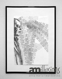 Witold Gombrowicz portrait