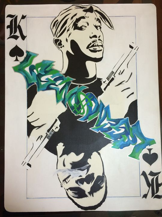 Kings of Hip-Hop, limited edition - T-Rizzle Graff Art