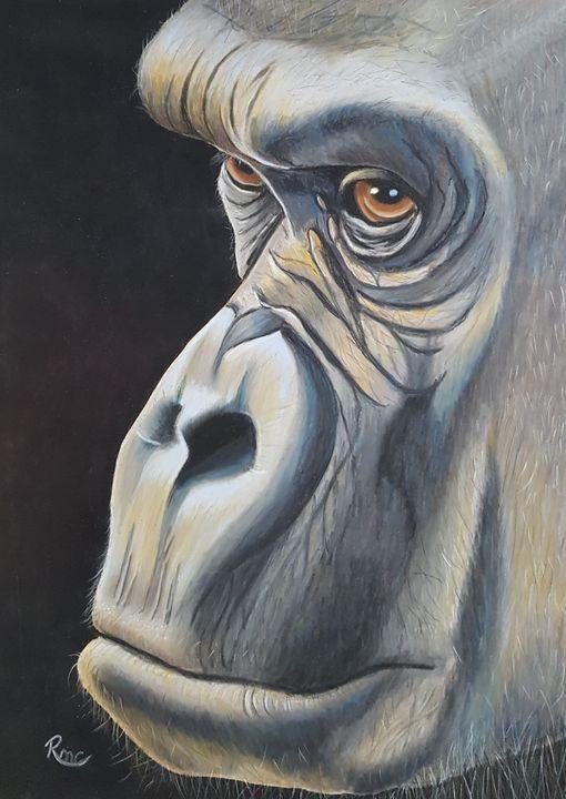 Contemplation - Pastel Art by Rebecca