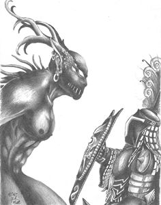 Demon vs Knight