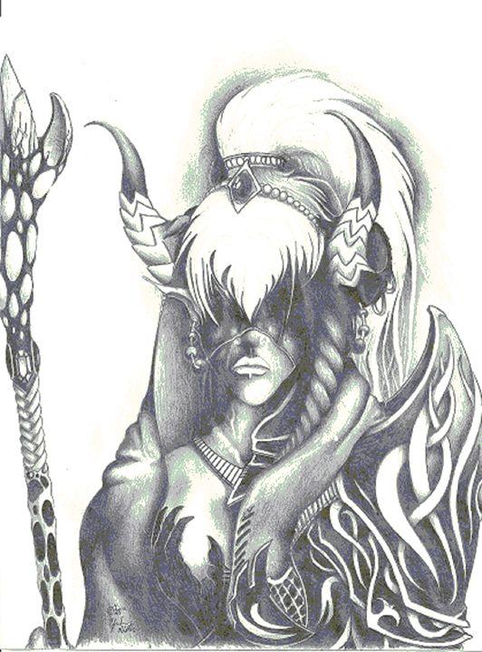 Elvin Sorceress - Efrehen Murillo