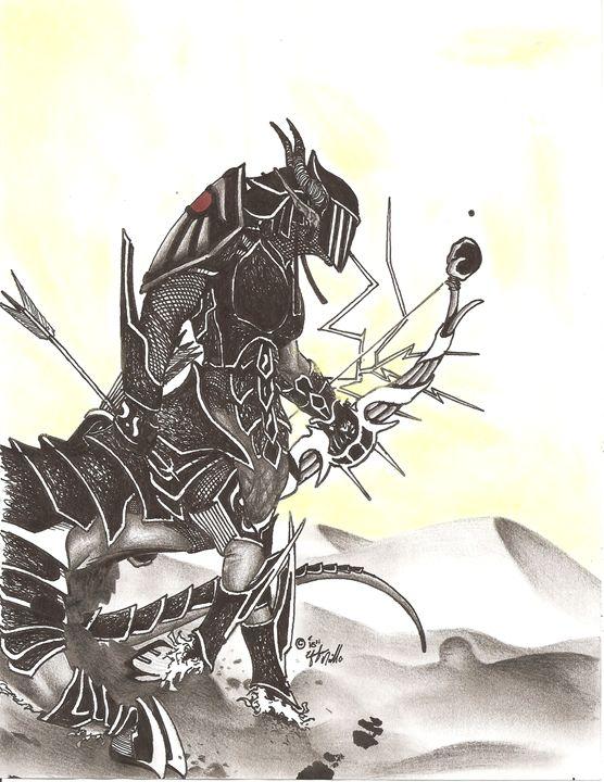 Dragon Knight - Efrehen Murillo