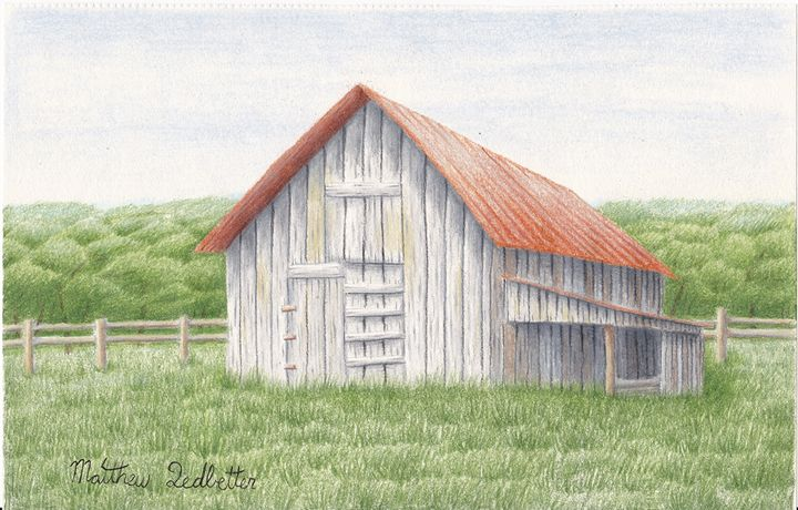 barn in field - Matthew Ledbetter