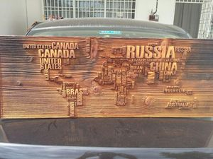 New wooden craft