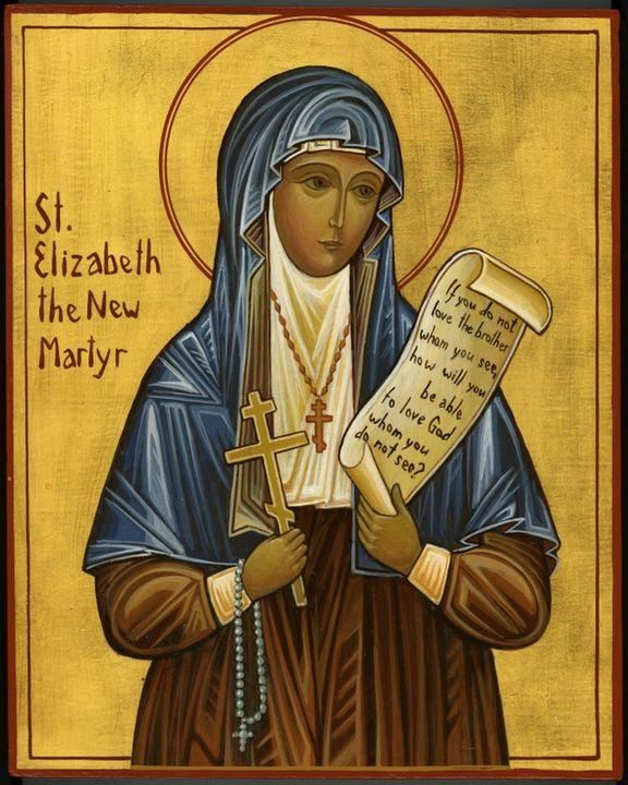 St. Elizabeth the New Martyr - St. Elizabeth Orthodox Church