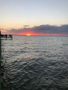 Sun setting -  Dana.landes
