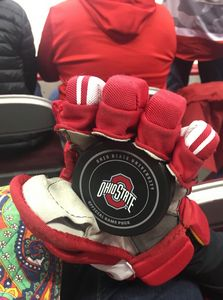 OSU game Puck