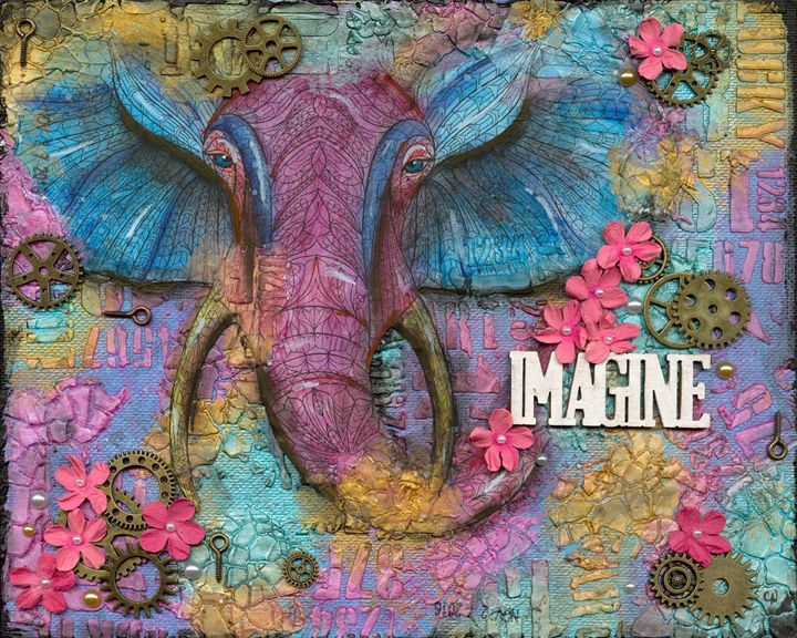 Imagine - Christine Newell • Left Side Art