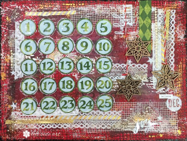 Advent Calendar - Christine Newell • Left Side Art