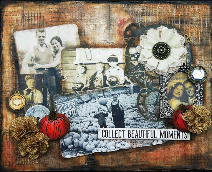 Collect Beautiful Moments - Christine Newell • Left Side Art