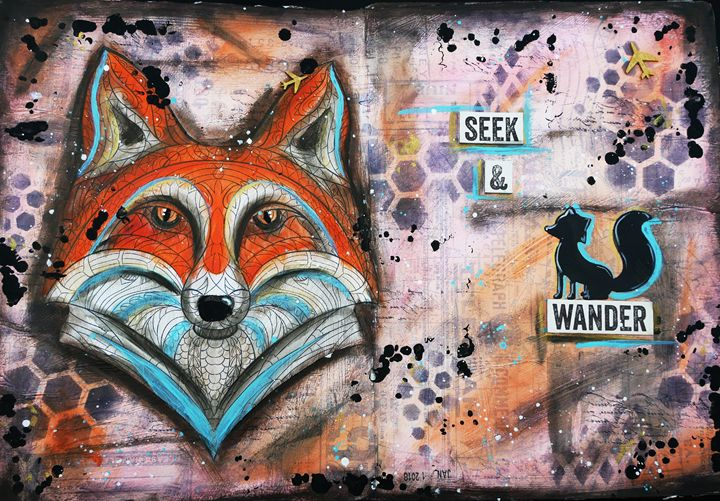 Seek & Wander - Christine Newell • Left Side Art