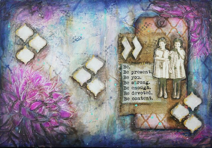 Be - Christine Newell • Left Side Art