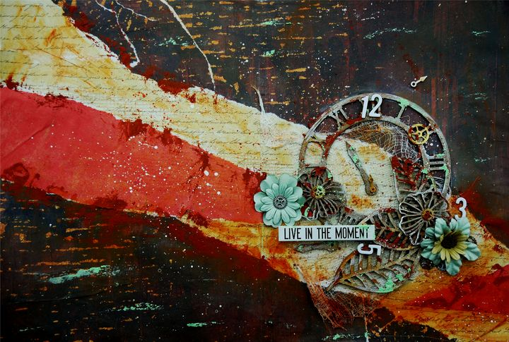 Live in the Moment - Christine Newell • Left Side Art